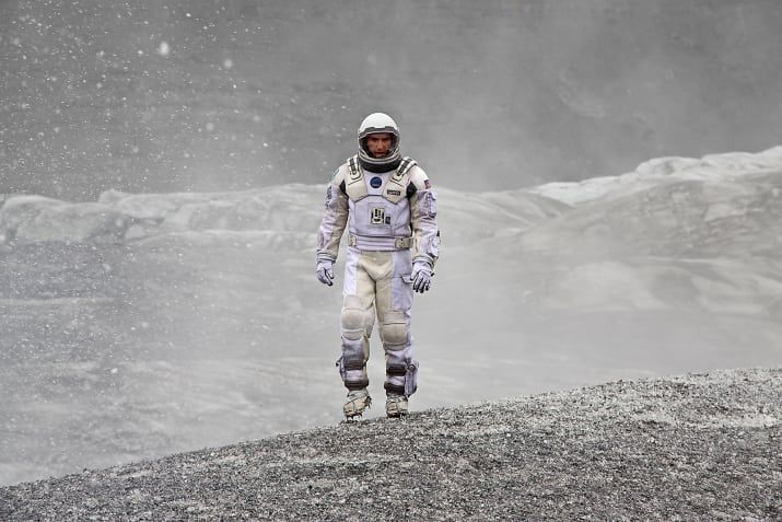 'Interstellar makes you realise how insignificant our planet is in the universe, and how exciting and terrifying the universe is. The physics behind it all is true which makes this movie even more powerful. Despite possibly being hard to follow at some points, it all makes sense in the end. The cinematography and visual effects are stunning, and combined with Hans Zimmer's score makes for a very visually satisfying and emotional movie!'Submitted by holly007.