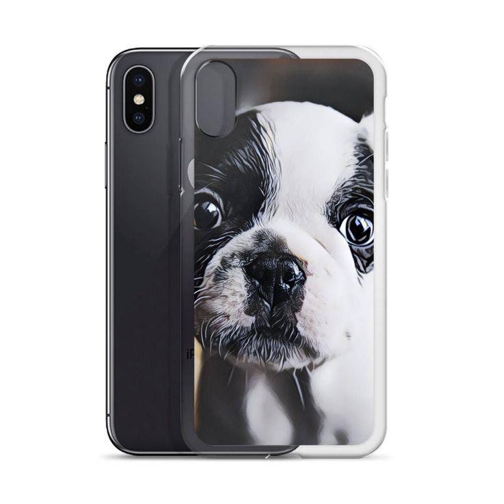 Quiero compartir lo último que he añadido a mi tienda de #etsy: Funda de cachorro Bulldog Francés para iPhone X, iPhone 8, iPhone 8 Plus, iPhone 7, iPhone 7 Plus, iPhone 6s, iPhone 6s Plus, iPhone 6 #accesorios #estuche #telefonomovil #blanco #cumpleanos #navidad #negro #animales #elegante