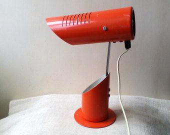 Vintage Bauhaus grau Schreibtischlampe Lampe von AntiquEmporiums