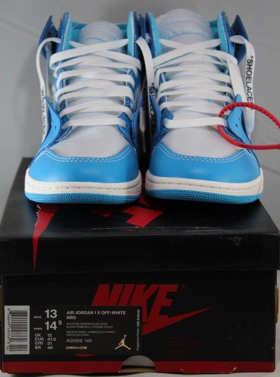 Off White Jordan 1 Unc Size 12 With Images White Jordans