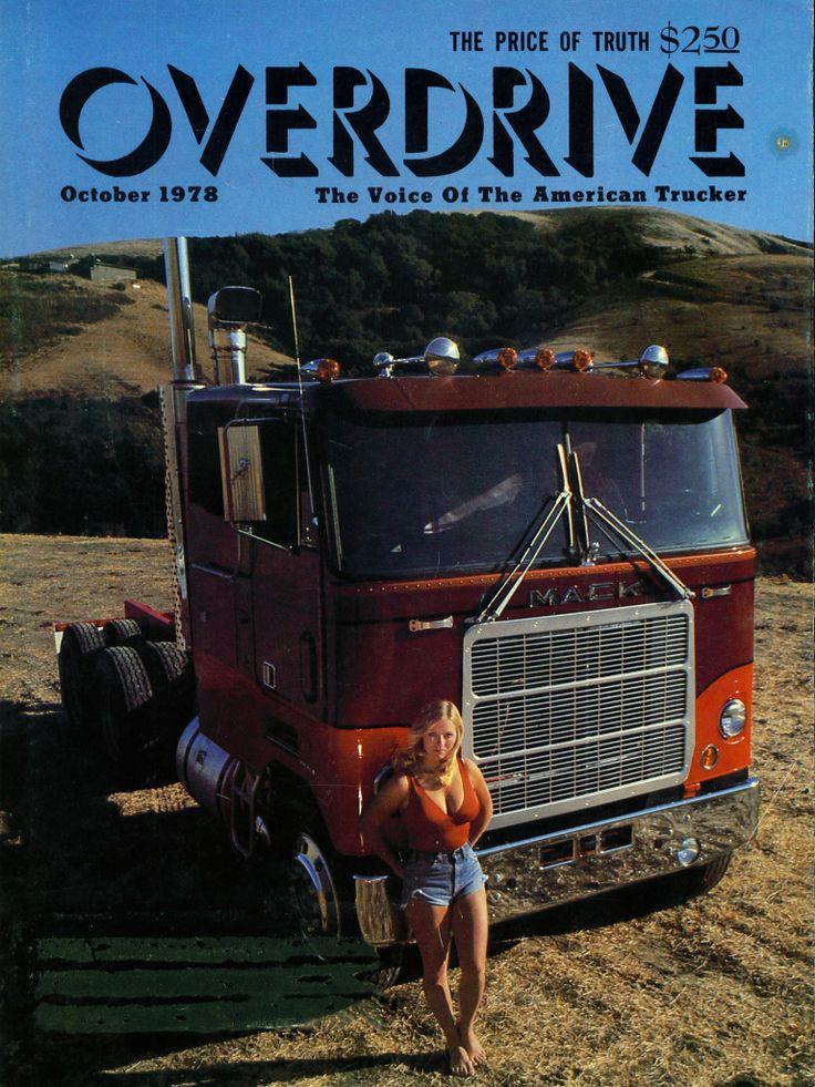 Old Chevy Truck >> Overdrive cover from 1978 | Trucks N Models | Big trucks, Trucks, girls, Mack trucks