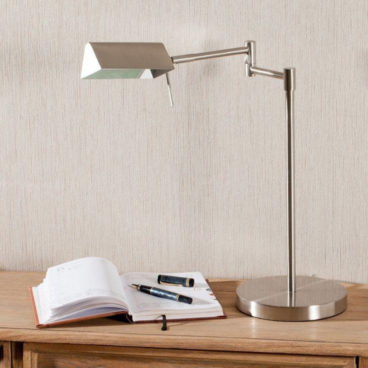 Lampa Home Office stojąca 44cm 44cm #dekoracje #meble #furniture #lamp #lampy #interior #design #decoration #salon #livingroom #home