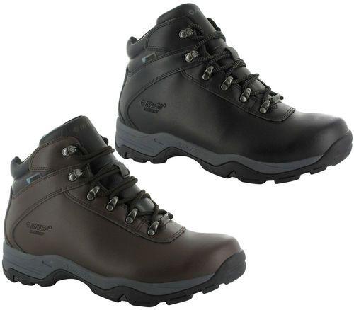 Hi-Tec Mens Waterproof Hiking Boots. Available in sizes 7-12 in Brown or Black. http://www.shoestationdirect.co.uk/hi-tec-eurotrek-iii-mens-waterproof-hiking-walking-trail-boots/