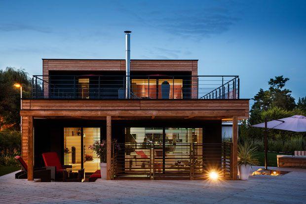 les 86 meilleures images du tableau maisons booa sur pinterest maison ossature bois maisons. Black Bedroom Furniture Sets. Home Design Ideas
