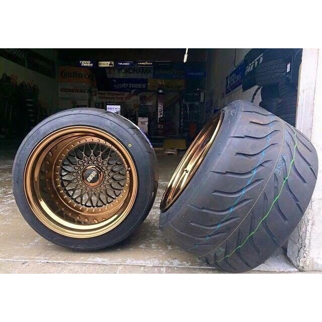 I'm sure everyone has seen these wheels by now, but seeing as it is Wheel Wednesday here are these BBS RS 17x14 going on a soon to be wide bodied BMW E30, this shit is going to look insane. I'll try to keep you guys posted. But go over and follow @obes_sebo for more on this crazy ass build.