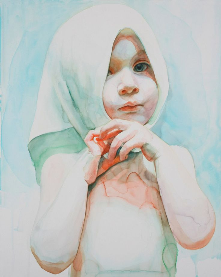 Immerse: Watercolor Portraits by Ali Cavanaugh
