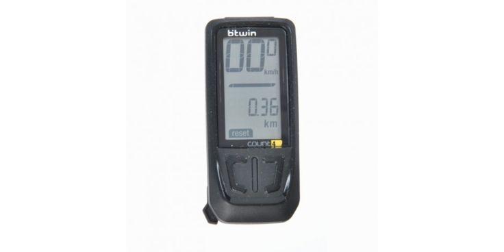 El cuentakilómetros Count 4 de B'Twin es una sencilla unidad inalámbrica que brinda una limitada selección de funciones pero por un costo baste accesible.
