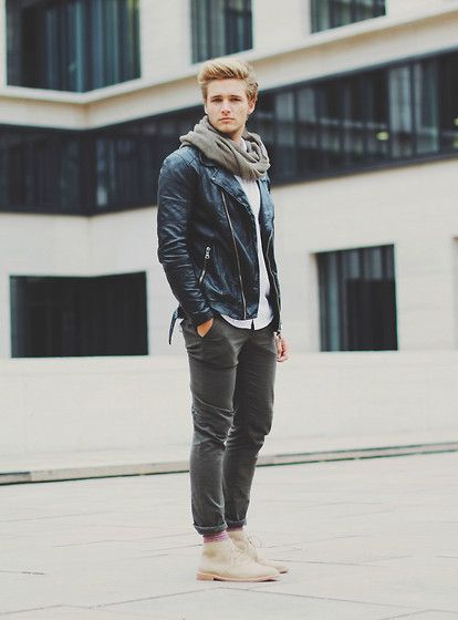 Macho Moda - Blog de Moda Masculina: Looks Masculinos com Bota Marrom, pra…