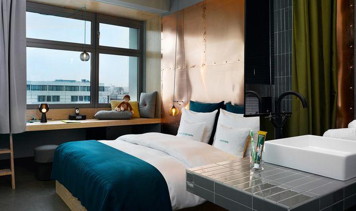Das 25hours Hotel Bikini Berlin ist der Urban-Jungle mit Blick über Großstadt und Zoo mitten in Berlin. Jetzt ihr Hotel in Berlin buchen!