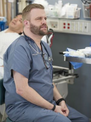 Stephen Wallem as Thor from Nurse Jackie