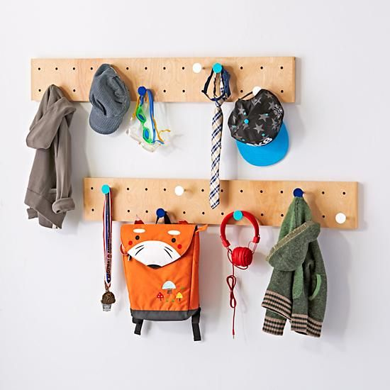 We've got you pegged as somebody who wants to customize your storage. Well, here's some good news. Our exclusive On the Pegboard Shelving System lets you design your wall storage any way you want it.<br /><br /><NEWTAG/><ul><li>Nod exclusive</li><li>Hang multiple pegboards to create your own wall shelf display</li><li>Can be attached to the wall at any height, making it easy for children to reach</li><li>Pegs sold seperately</li><li>Can hold up to 100 lbs.</li><li>Each hook can hold up to…