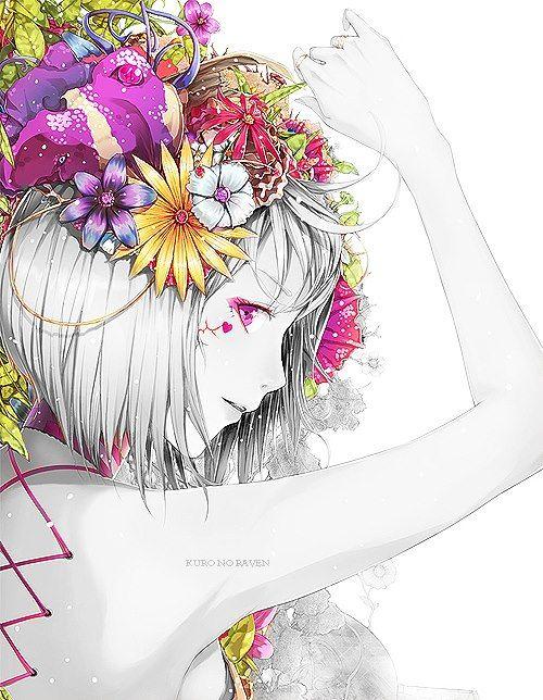 flower+anime - Buscar con Google