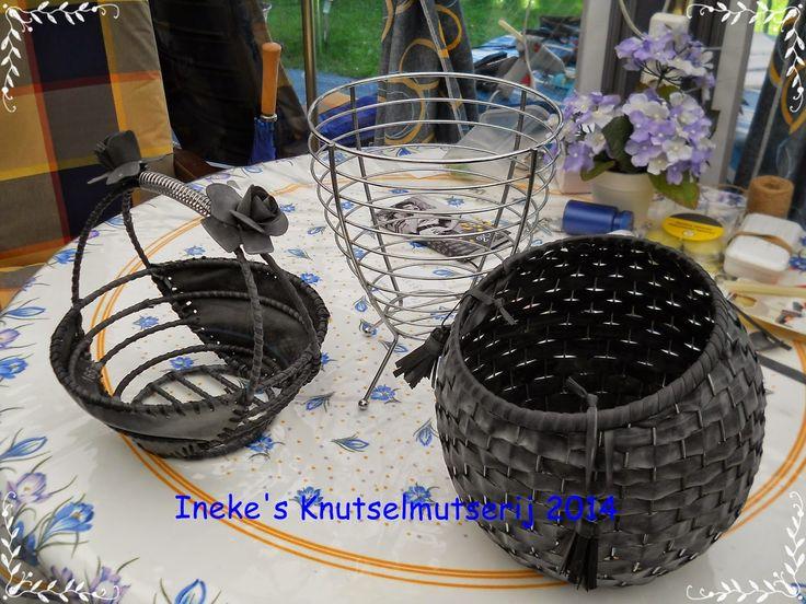 manden van fietsband maken - crea paloppo