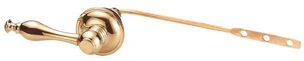 Danze D492055 Opulence Front Mounted Tank Lever Polished Brass Accessory Tank Lever Tank Lever