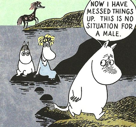 moomin comic strip