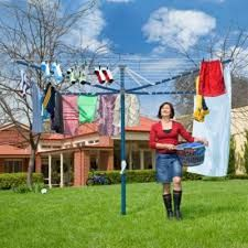 If I have to do washing then at least I need a washing line that is'nt falling apart.