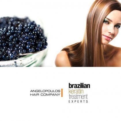 Caviar Therapy Anti-Age: Μια θεραπεία αντιγήρανσης και ανάπλασης!  Περιποίηση μαλλιών με χαβιάρι από τα καταστήματα Angelopoulos Hair Company