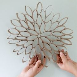 A really simple craft using readily available material! Easy for children too.