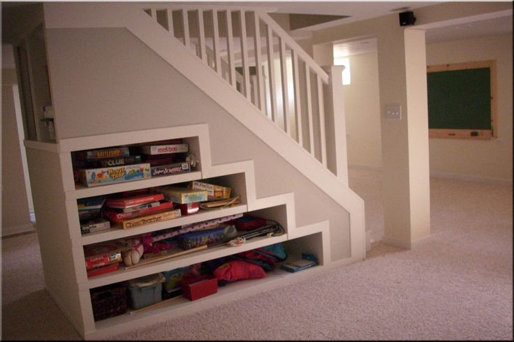 Lighting Basement Washroom Stairs: Attic Conversion Staircase & Storage