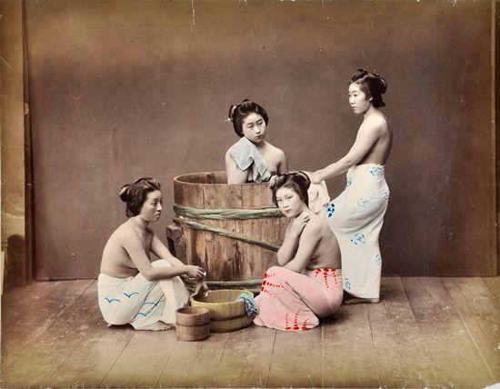 1890: Japanisches Bad