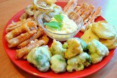 Warzywa W Tempurze Po Japońsku to rewelacyjne panierowane japońskie warzywa. Wspaniała potrawa na uroczystość ze znajomymi. Każdy może wybrać swoje ulubione warzywo
