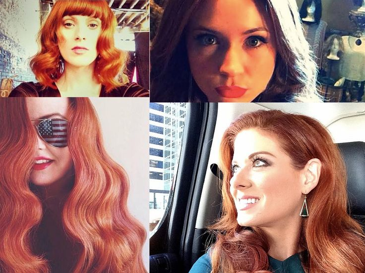 "Let's admit it, the most popular social trend in 2014 was the ""selfie."" And there is no stopping it. Some of our favorite redhead celebrities have showcased their red hair in the most beautiful (and funny) of ways. Here are our top picks for ""Best Redhead Celebrity Selfie"" this year:  [caption id=""attachment_14524"" align=""aligncenter"" width=""600"""