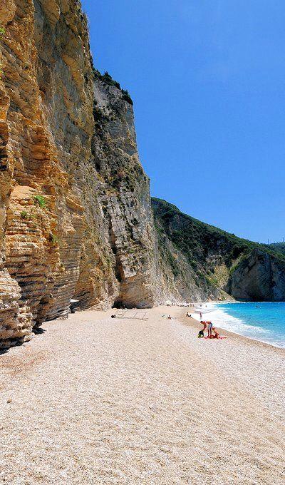 Golden Beach, Corfu Island (Ionian), Greece