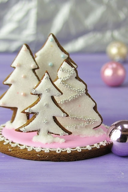 """Gingerbread Dough Recipe for making Centrepieces and Gingerbread Houses ... a great recipe from this blog, """"Haniela's ... from my house to yours""""."""