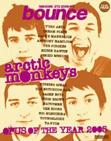 bounce 272号 - アークティック・モンキーズ