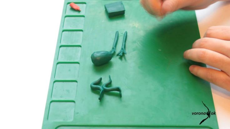 урок 1 как  вылепить лягушку, обучающие уроки лепки для детей и родителей