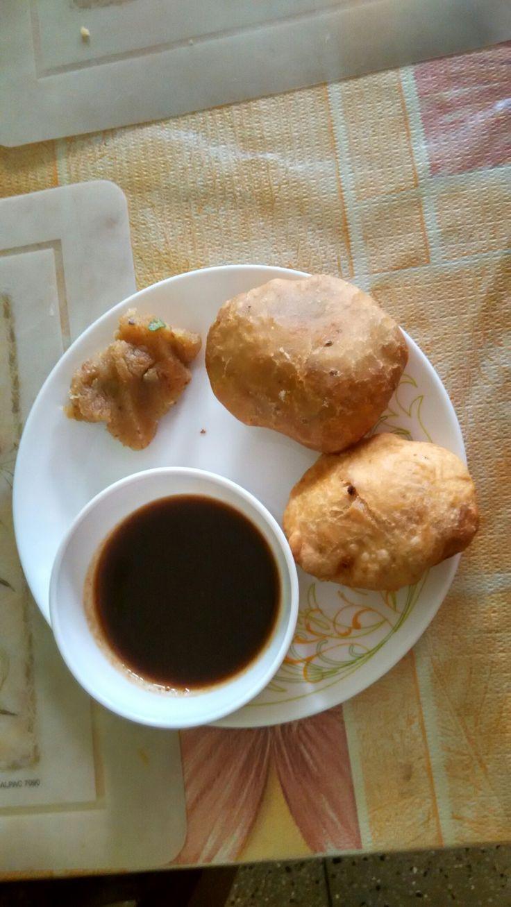 onion kachori n halva food halva cooking on hebbar s kitchen kachori id=11999