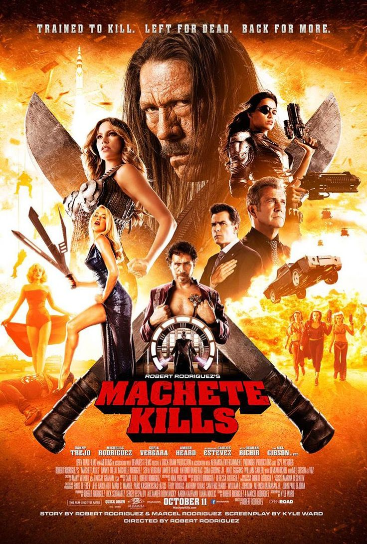 MACHETE KILLS - New Poster and 13 New Photos! — GeekTyrant
