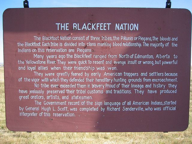 Blackfoot Indian Reservation | photo