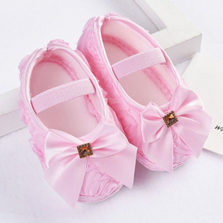 Newborn-to-18M-Infants-Baby-Girl-Soft-Crib-Shoes-Moccasin-Prewalker-Sole-Shoes