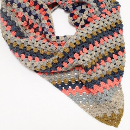 Gratis haakpatroon sjaal / Free crochet pattern scarf