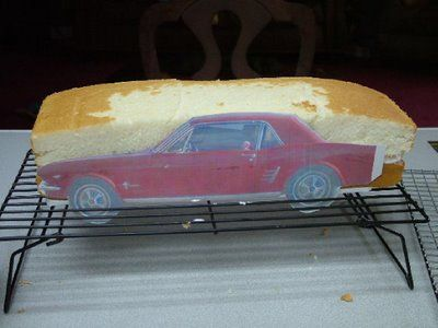 How to make a 3D car cake