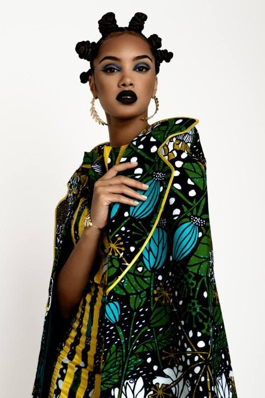 The 'African Aesthetic' by Angolan Designer Rose Palhares | Natural Hairstyles