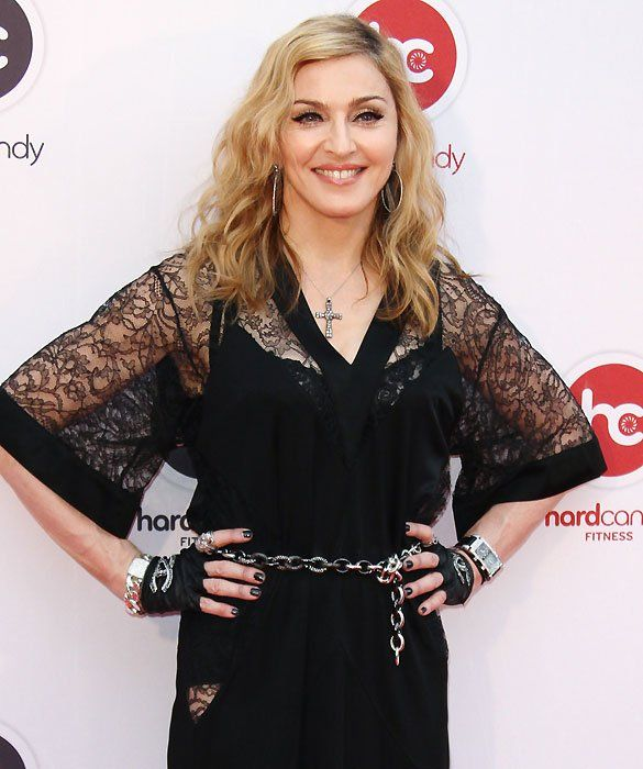 It's Madonna!    Now known for being far more than a material girl, the singer/songwriter/actress/director/etc. is also mom to Lourdes, 16; Rocco, 12; David, 7; and Mercy, 7.
