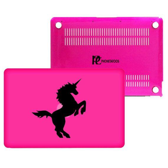 """Unicorn  For MacBook Air 13"""", Mac Pro 13"""", Mac Pro 13"""" Retina, Mac Pro 15"""", Mac Pro 15"""" Retina Transparent Plastic Hard Case cover"""