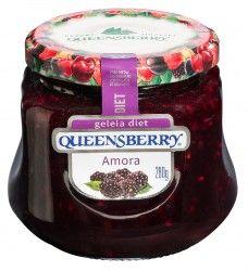 Geleia Queensberry Diet de Amora.