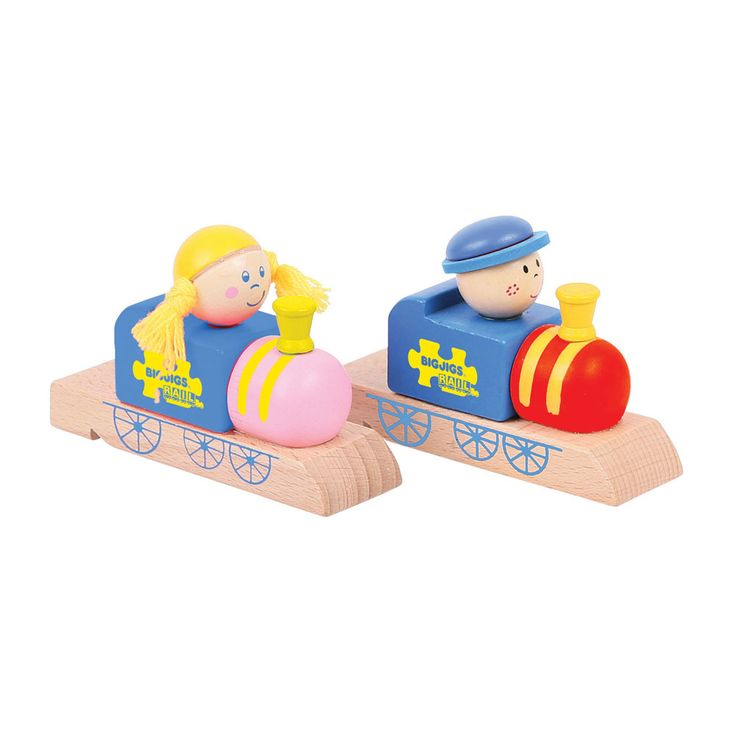 Train Whistle (Pack Of 2) | Official Bigjigs Toys | Wooden Toys, Railway