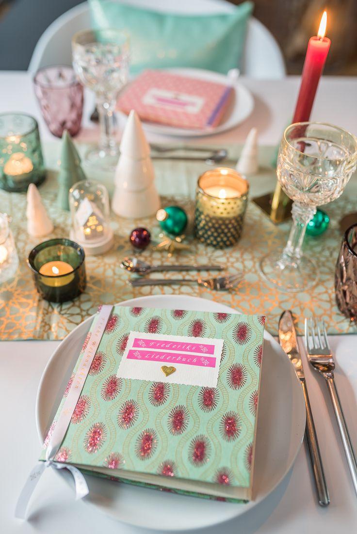 DIY - Liederbuch für eure Tischdeko an Weihnachten und Gewinnspiel - Leelah Loves @brotherDeutschland