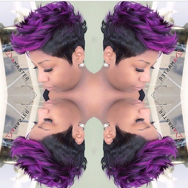 STYLIST FEATURE| This #mohawk #pixiecut✂️ done by #WestPalmBeach stylist @damasterstylist is EVERYTHING Gorgeous texture and color #VoiceOfHair ========================= Go to VoiceOfHair.com ========================= Find hairstyles and hair tips! =========================