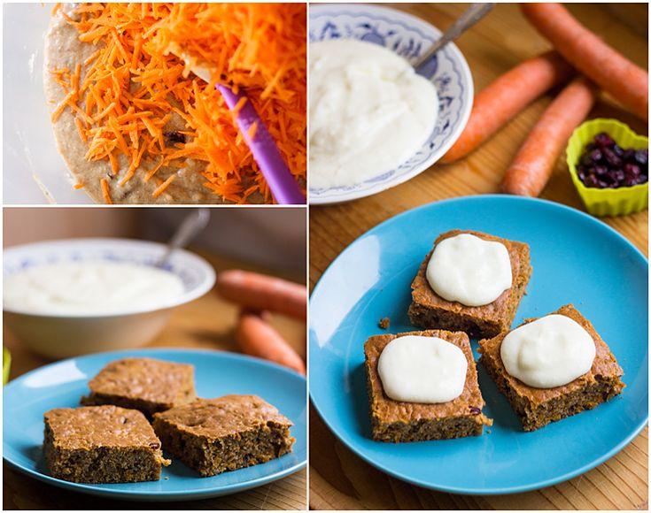 Carrot cake | Mrkvový koláč « Tina