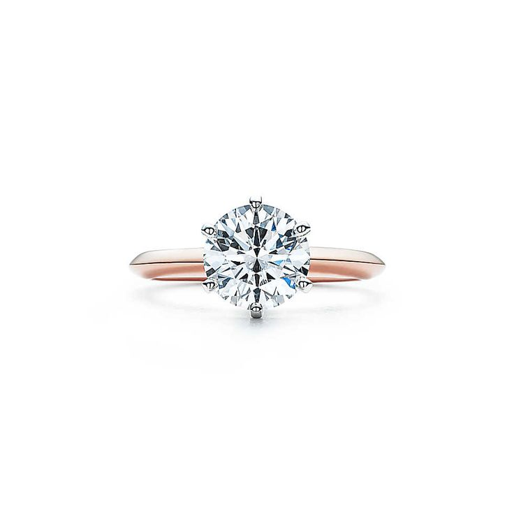 The Tiffany® Setting 18K Rose Gold