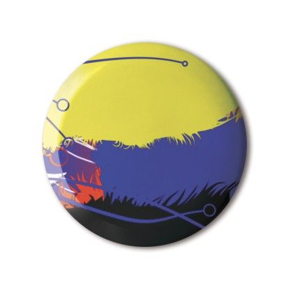 ❤️ #BBOTD Stereohype #button #badge of the day by FL@33 https://www.stereohype.com/411__fl33 #abstract #hair #hairy