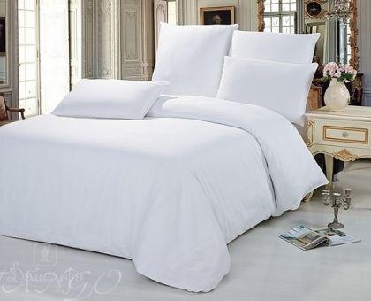 Купить постельное белье из сатина БЕЛОЕ 1,5-сп от производителя Tango (Китай)
