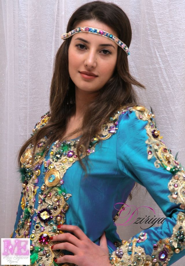 miss-elegancia-algeria-2016- Brahimi Lydia