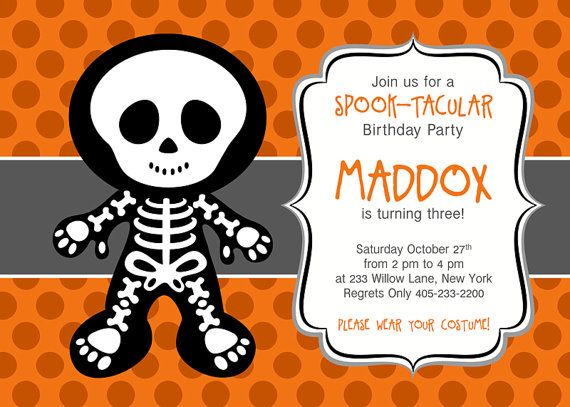 164 best Invitaciones Halloween images on Pinterest