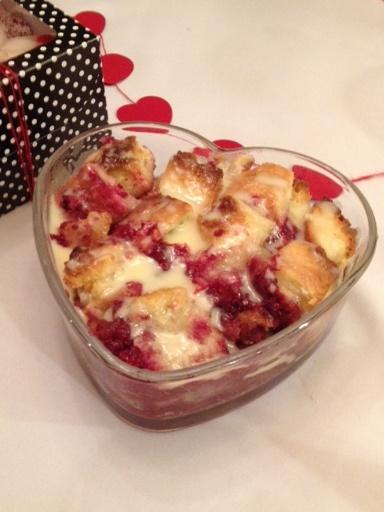 Raspberry bread, Bread puddings and Raspberries on Pinterest